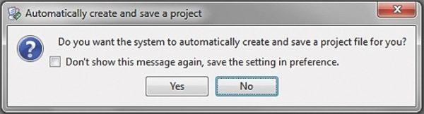Вопрос об автоматическом создании конфигурационного проекта