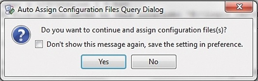Вопрос о назначении конфигурационных файлов