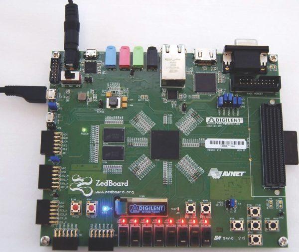 Внешний вид инструментального модуля ZedBoard