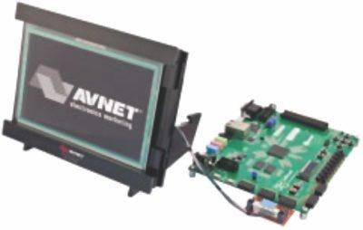 Внешний вид комбинированного дисплейного модуля 7-inch ZedBoard Touch Display