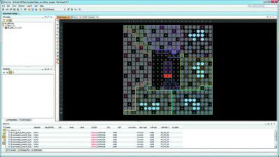 Назначение выводов кристалла для внешних цепей разрабатываемой системы с помощью средств PlanAhead Design and Analysis Tool