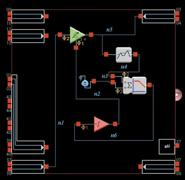 Реализация схемы АРУ с использованием усилителя управляемого напряжением