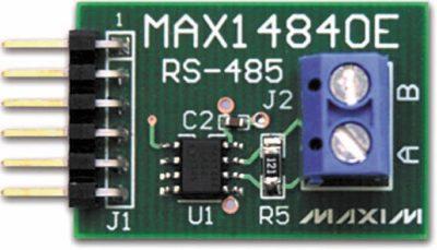 Конструктивное исполнение периферийного модуля MAX14840PMB1
