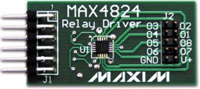 Конструктивное исполнение модуля расширения MAX4824PMB1