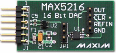 Внешний вид модуля расширения MAX5216PMB1