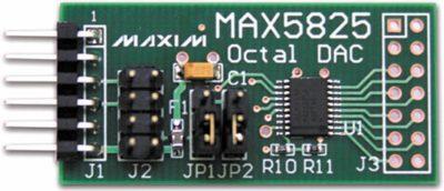Внешний вид модуля расширения MAX5825PMB1