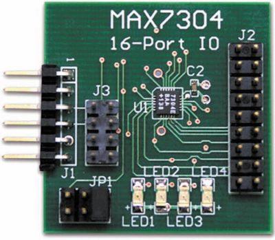 Конструктивное исполнение модуля расширения MAX7304PMB