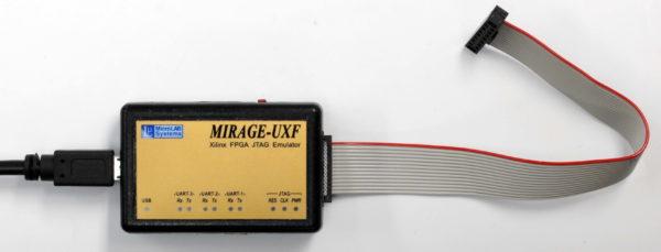 MIRAGE-UXF — новый высокоскоростной USB JTAG-эмулятор для ПЛИС фирмы Xilinx